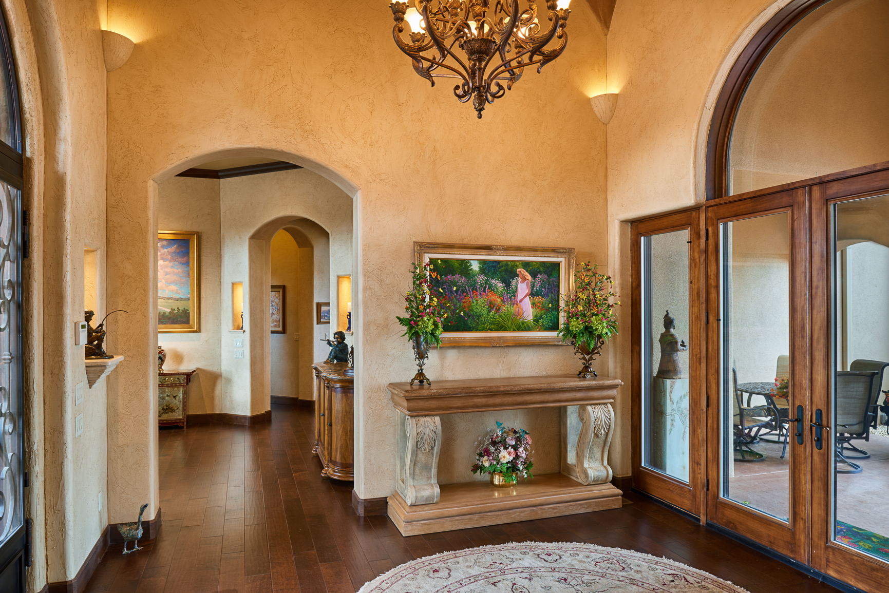 Bill Cornelius Construction Luxury Custom Homes Interior Entrance
