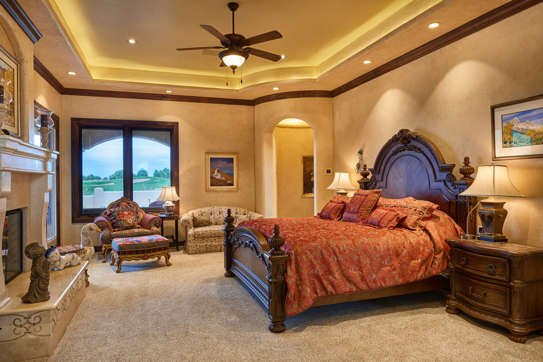 Bill Cornelius Construction Luxury Custom Homes Bedroom